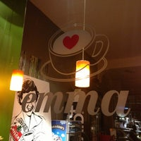 Das Foto wurde bei emma Café-Bar von Sebastian K. am 7/14/2013 aufgenommen