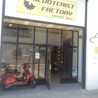 Photo taken at Scooterist Factory by Pinasco G. on 6/11/2013