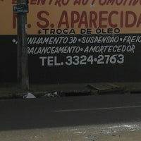 Photo taken at borracharia do maurao by Lazim S. on 6/11/2013