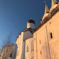 Photo taken at Звонница Тихвинского мужского монастыря by Yulia I. on 1/4/2017