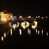 Photo taken at Centralbron by Yulia I. on 7/20/2013