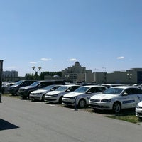 Photo taken at Volkswagen ТрансТехСервис by Kesha on 7/2/2013