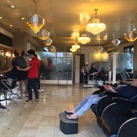 Photo taken at Heaven's Salon and Spa by jenny c. on 3/6/2014