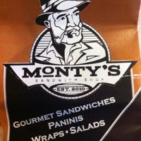 Photo taken at Monty's Sandwich Shop by Shanda M. on 8/1/2013