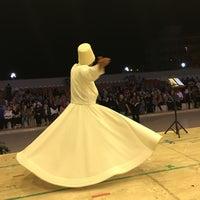 Photo taken at Gümüldür Amfi Tiyatrosu by Özgür Ö. on 7/20/2016