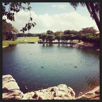 Photo taken at Campo de Golf Playacar by Santiago V. on 3/5/2013