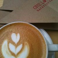 Снимок сделан в ONE LOVE espresso bar пользователем Elina 5/17/2015