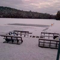 Photo taken at Dickey Lake by Karen M. on 12/30/2012