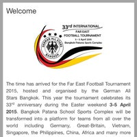 Photo taken at International Far East Football Tournament by Patrick M. on 4/4/2015