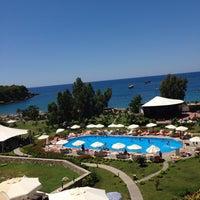 6/24/2014 tarihinde Любовь Т.ziyaretçi tarafından Justiniano Deluxe Resort'de çekilen fotoğraf