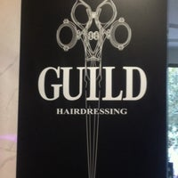 Photo taken at Guild Hairdressing by Sara A. on 4/7/2014