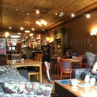 Photo taken at Crazy Wisdom Bookstore & Tea Room by Brandi L. on 7/22/2013