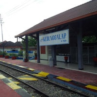 Photo taken at Stasiun Kedunggalar by Mahendro T. on 5/27/2014