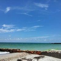 Photo taken at Bradenton Beach by Rachel D. on 6/29/2013