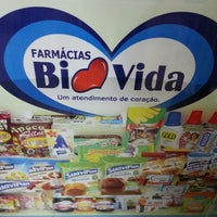 Photo taken at Farmácia Biovida by Frank Willian D. on 7/9/2013