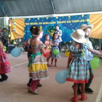 Photo taken at Escola Municipal Gov Miguel Arraea by rosineide c. on 6/11/2014