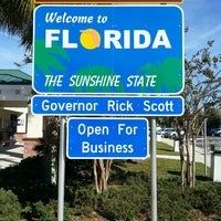 Photo taken at Florida Welcome Center (I-95) by D L. on 10/27/2013