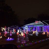 photo taken at prestonwood forest neighborhood by rachael e on 12212013 - Prestonwood Forest Christmas Lights