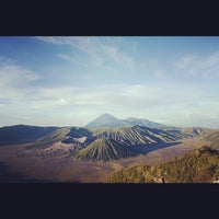 Photo taken at Mount Bromo by Yusvari H. on 10/3/2012
