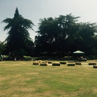 Photo taken at Fulham Palace Gardens by Sandy C. on 6/18/2017