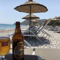 Photo taken at Tuna Beach by Sinan on 6/9/2018
