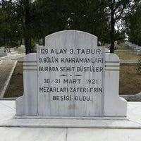 Photo taken at İntikamtepe Şehitliği by Ege G. on 7/4/2015