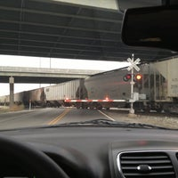 Photo taken at Railroad Crossing by Jodie on 11/20/2012