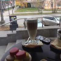 """Photo taken at Cafe """"LEONE"""" by Lada S. on 10/12/2014"""