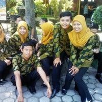 Photo taken at SMA Negeri 1 Puri by Mucil K. on 8/17/2013