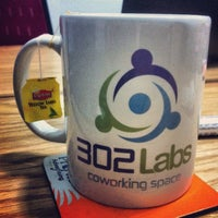 Photo taken at 302Labs Coworking Space by Maha A. on 4/1/2014