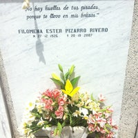 Photo taken at Cementerio Parroquial Caleta Abarca (Cementerio Recreo) by Fernanda M. on 10/20/2012