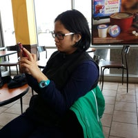 Photo taken at Dunkin Donuts by Kris on 2/2/2014