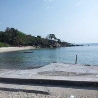 Photo taken at Haad Tian Beach Resort by Tatyana on 3/11/2014