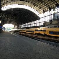 Photo taken at Station Haarlem by Boudewijn V. on 5/28/2013