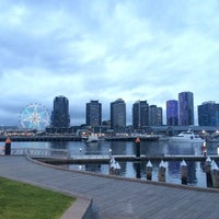 Photo taken at Watermark Docklands by PAXpangasBest on 6/19/2014