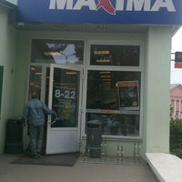 Photo taken at Maxima X by Ilona K. on 7/27/2013
