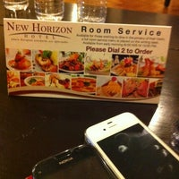 Photo taken at New Horizon Hotel by Ryan A. on 11/14/2012