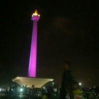 Photo taken at Lapangan Silang Monas by Bknetshop on 2/1/2014