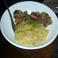 Photo taken at ANQI By Crustacean Gourmet Bistro & Noodle Bar by Anette on 6/29/2013