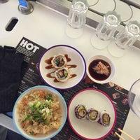 Photo taken at YO! Sushi by Abdulrahman A. on 1/14/2016