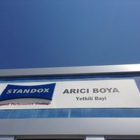 Photo taken at ARICI BOYA by Emrah Ö. on 6/10/2014