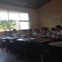 Photo taken at Escuela Fray Pedro de Gante y Leona Vicario by Gracie H. on 4/1/2014