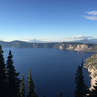 Photo taken at Crater Lake Resort by Miguel M. on 10/3/2015