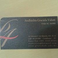 Photo taken at Escritorio de Advocacia Andhielita Valiati by Mayra M. on 9/23/2013