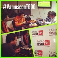 Photo taken at Radio Sport Chile by Pasión d. on 10/4/2013