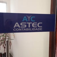 Photo taken at ASTEC Contabilidade by Jeferson on 8/14/2014
