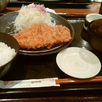 Photo taken at Tonkatsu Wako by itochu on 6/27/2016
