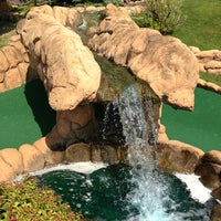 Photo taken at Congo River Miniature Golf by Aaron B. on 6/30/2013