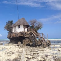Photo taken at The Rock Restaurant Zanzibar by Visne K. on 10/26/2013