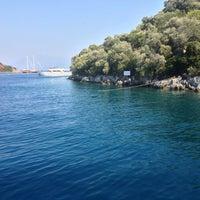 Photo taken at Zeytin Adası by Kerim T. on 7/12/2013